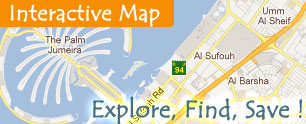 Interactive Map of Business Locations & Deals Around Dubai,Sharjah, Abu Dhbai and more cities of UAE
